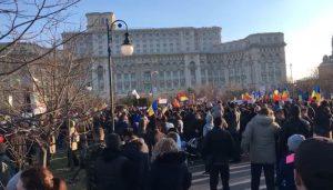 Protest în București