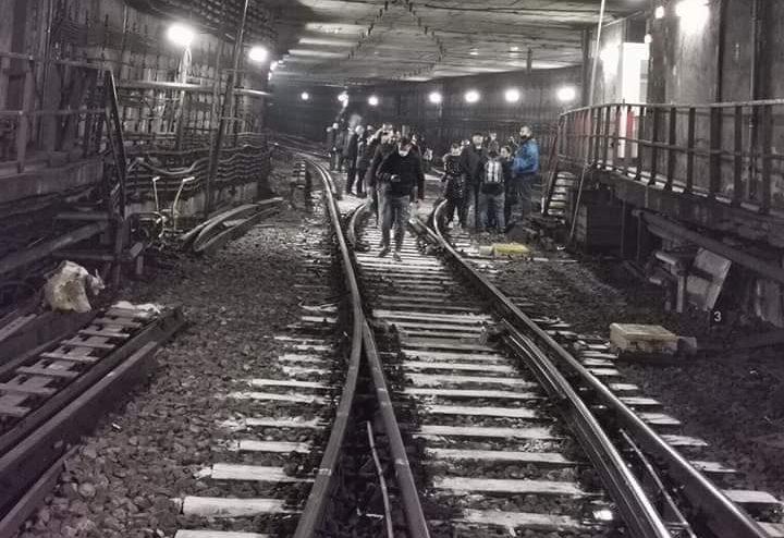 sancțiuni după protestul de la metrou