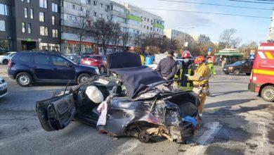 Photo of Accident grav în Bucureşti. Un șofer fără permis a fugit de polițiști și a spulberat o altă mașină