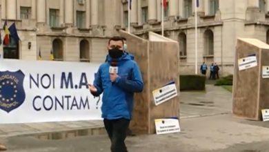 Photo of Protest cu toalete în fața Ministerului de Interne. Polițiștii vor să tragă un semnal de alarmă
