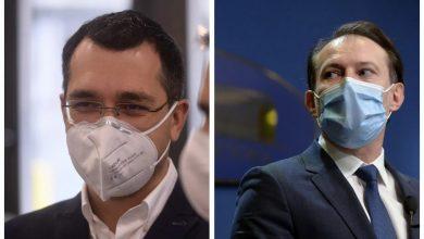 Photo of Scandal între Florin Cîțu și Vlad Voiculescu. Premierul trimite corpul de control la Ministerul Sănătății: Am avut o discuţie