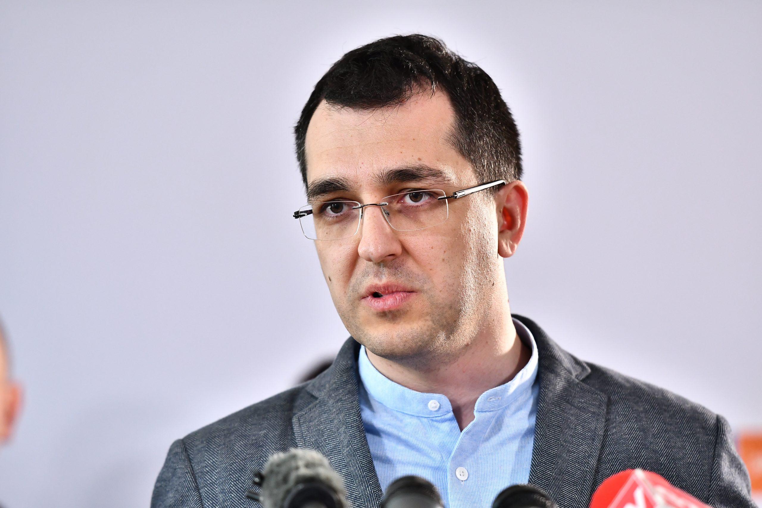 Primele declarații ale lui Vlad Voiculescu după demitere