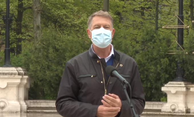 Klaus Iohannis declaratii pandemie