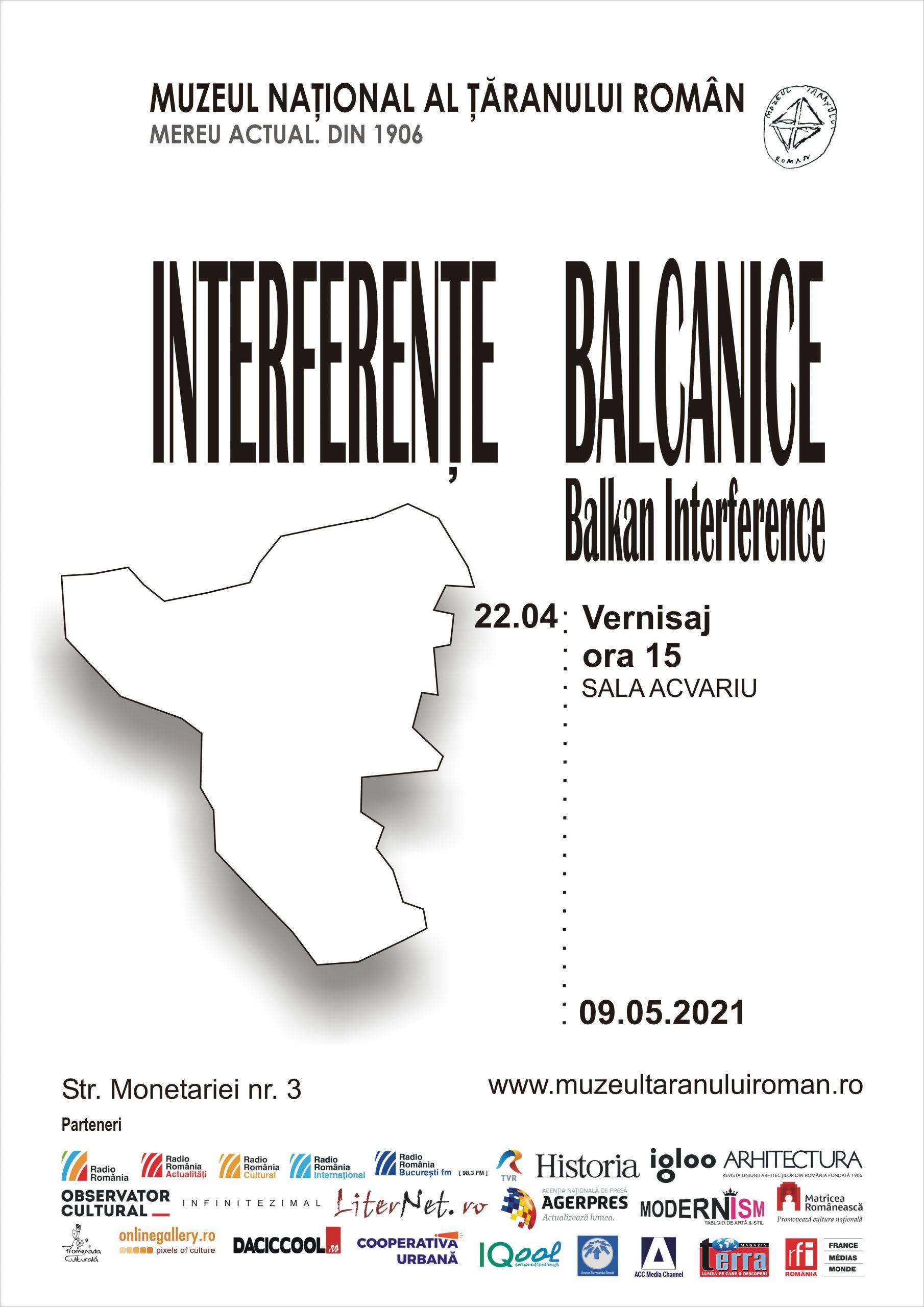 """Expoziția """"Interferențe Balcanice"""" la Muzeul Țăranului Român. În ce perioadă poate fi văzută"""