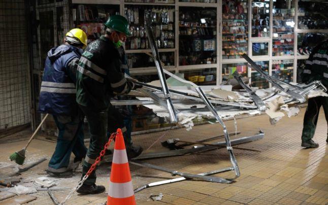 Ajutor pentru comercianții care au rămas fără magazine la metrou