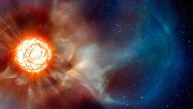 """Photo of Cercetătorii NASA consideră că steaua gigantică Betelgeuse ar putea fi o """"fabrică"""" de materie întunecată"""