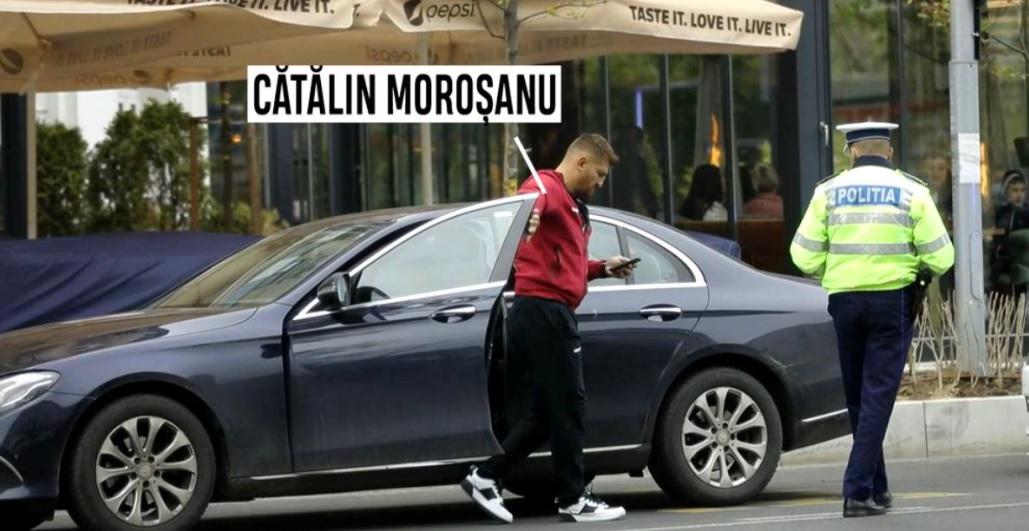 Cătălin Moroșanu a fost prins băut la volan în București
