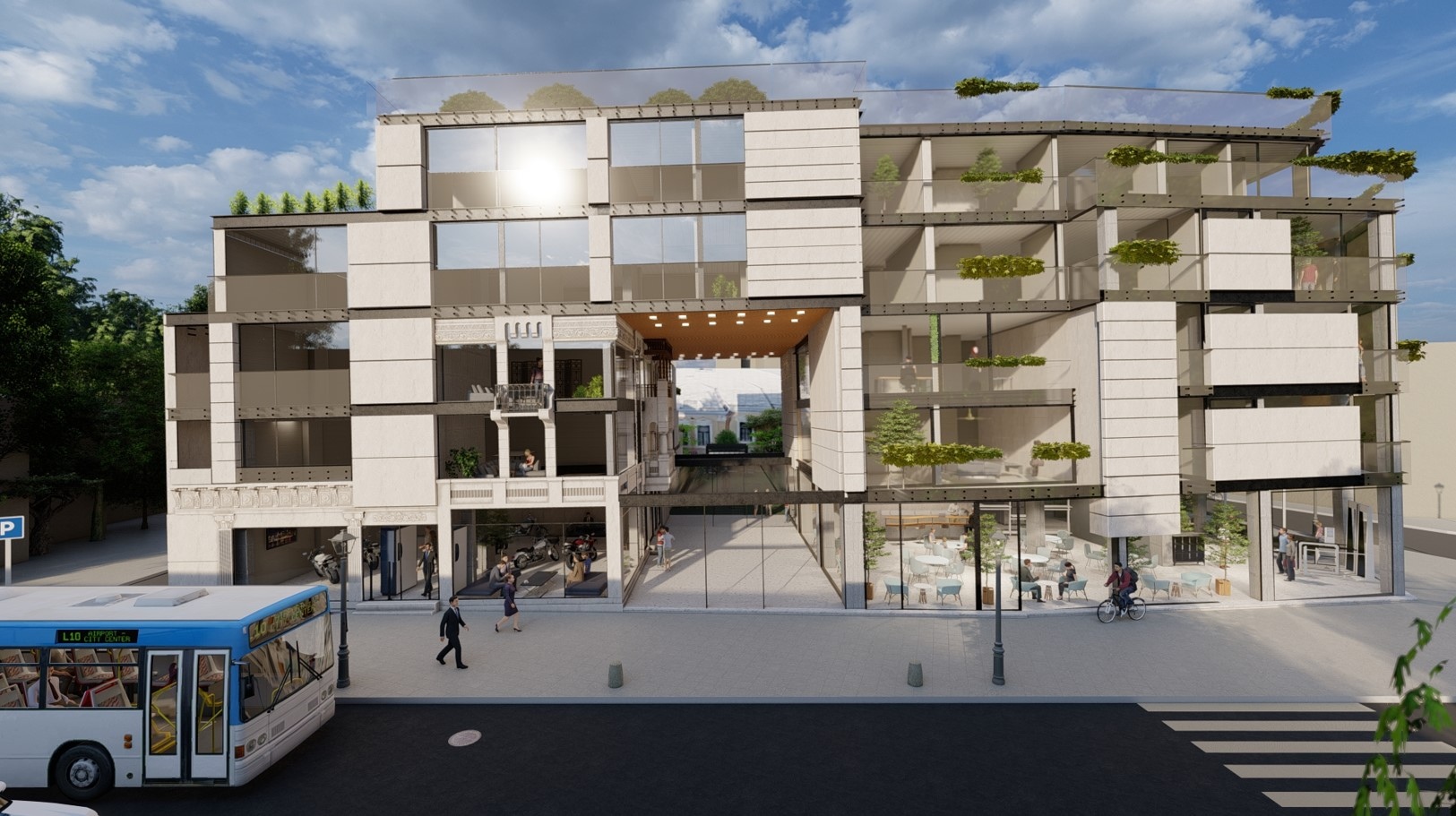 proiectul dezvoltat pe strada Icoanei