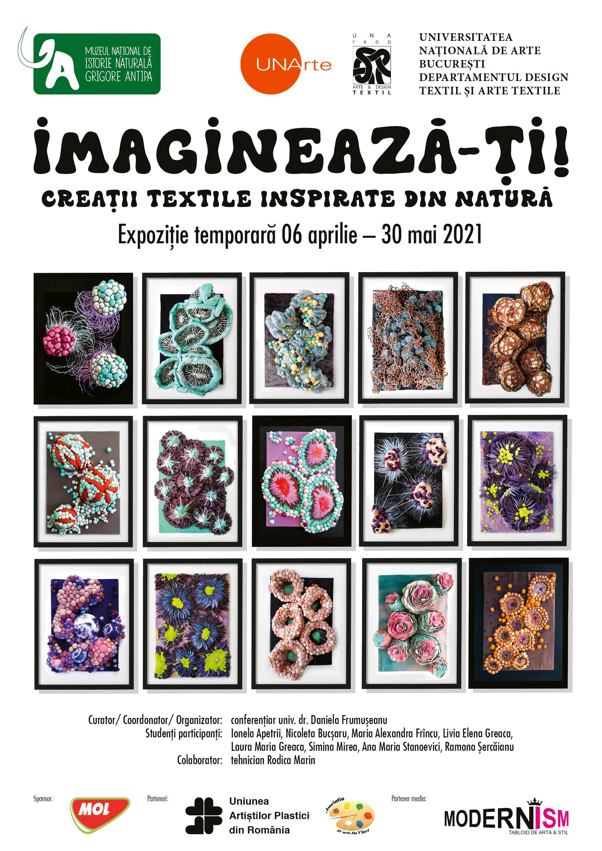 """Muzeul """"Grigore Antipa"""" deschide expoziția temporară """"Imaginează-ți! Creații textile inspirate din natură"""". În ce perioadă o poți vizita"""
