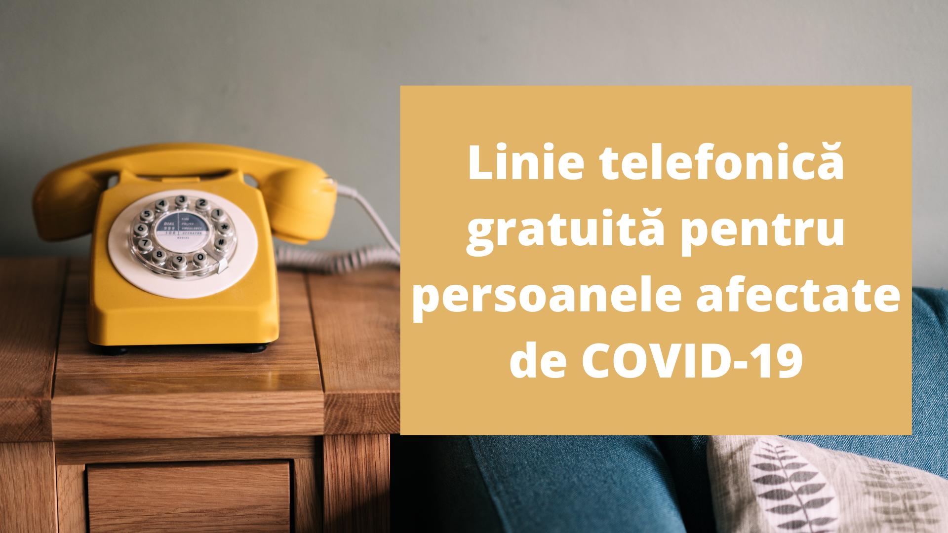 Linie telefonică gratuită de suport psihologic-emoțional pentru persoanele afectate de COVID-19, lansată de Ministerul Sănătății