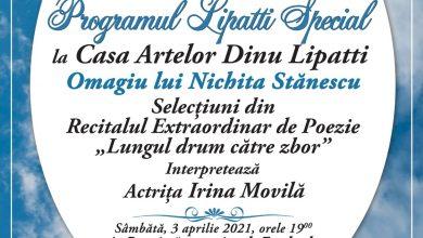 Photo of Omagiu lui Nichita Stănescu la Casa Artelor Dinu Lipatti. În premieră online în cadrul programului Lipatti Special, Ediția a XVI-a