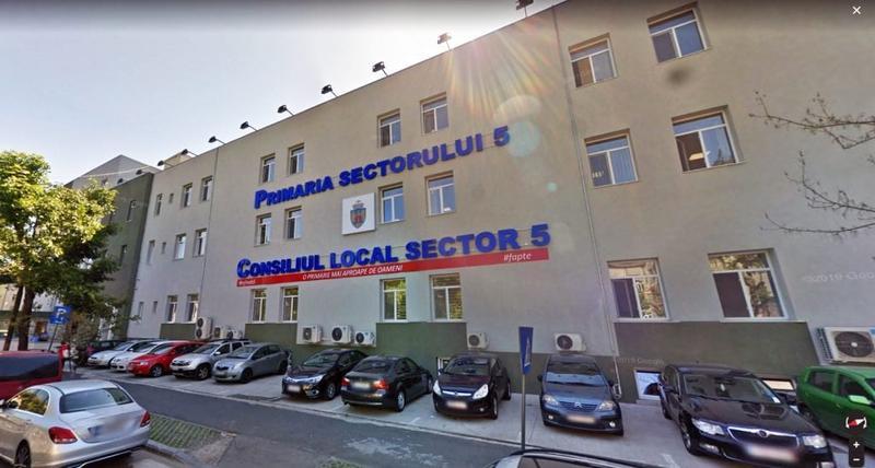 Raportul Curții de Conturi cu privire la Primăria Sectorului 5
