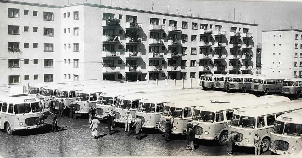cum arătau tramvaiele și autobuzele actualului STB în 1936