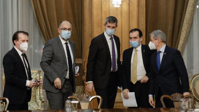 Ședința coaliției de guvernare