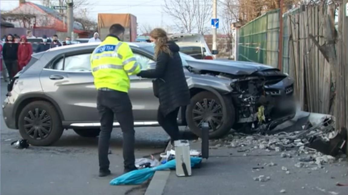 Şoferiţa care a omorât două fete în cartierul Andronache a fost trimisă în judecată
