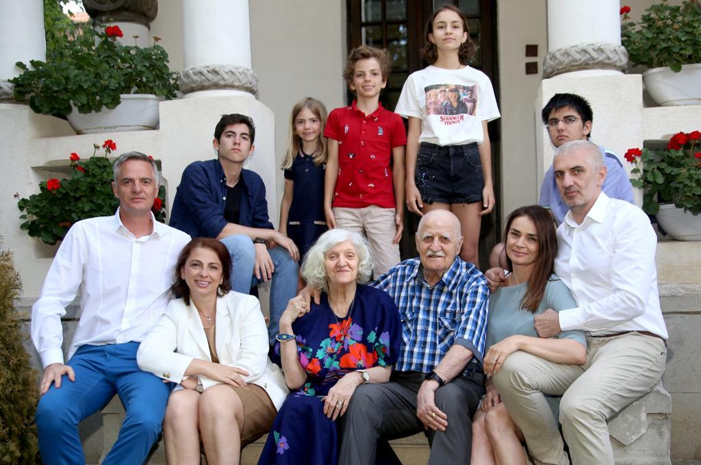 Familia, lecca, fotografie