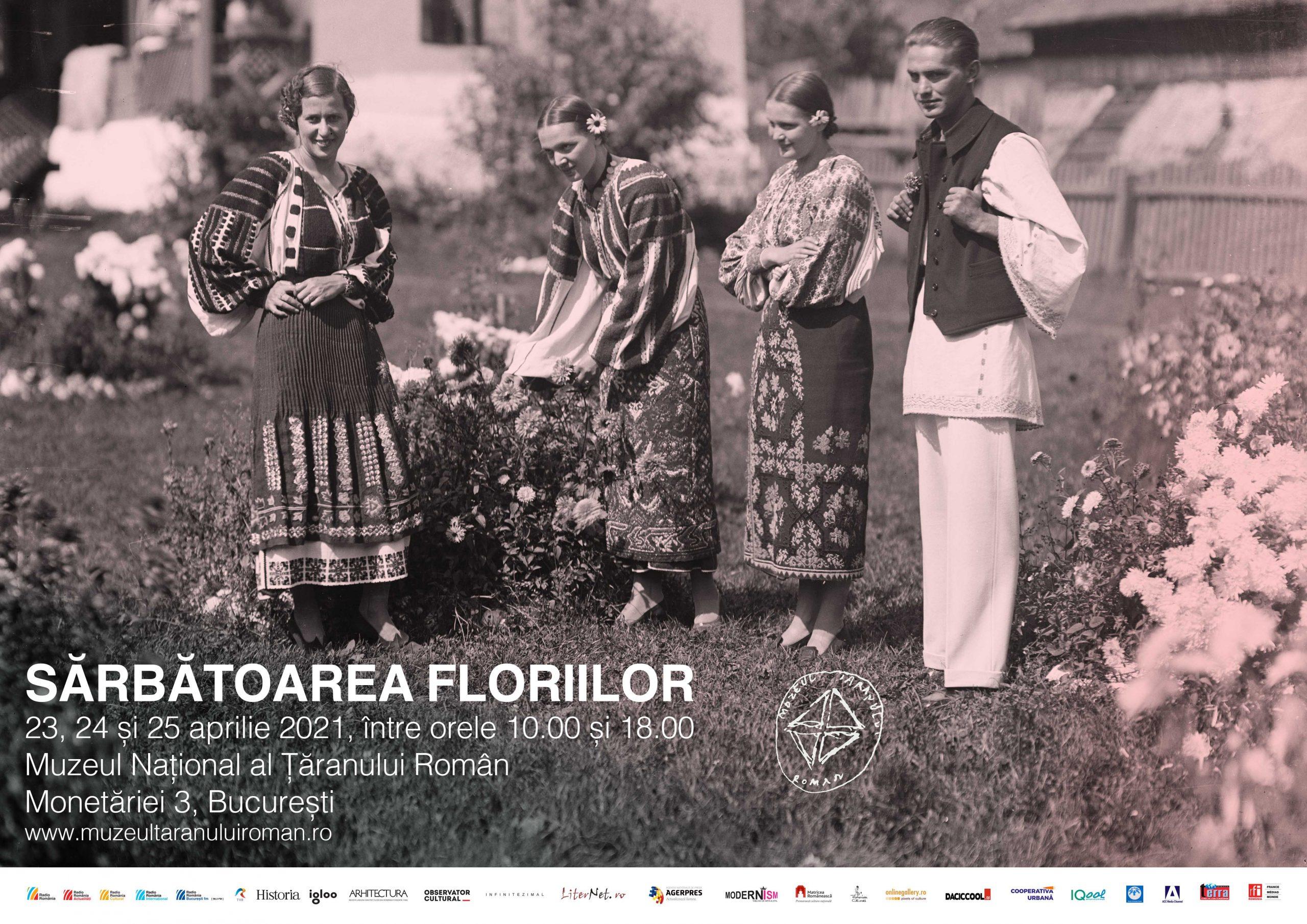 Sărbătoarea Floriilor - eveniment organizat de Muzeul Național al Țăranului Român. Care este prețul biletului