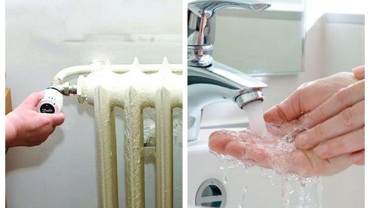 căldură şi apă caldă