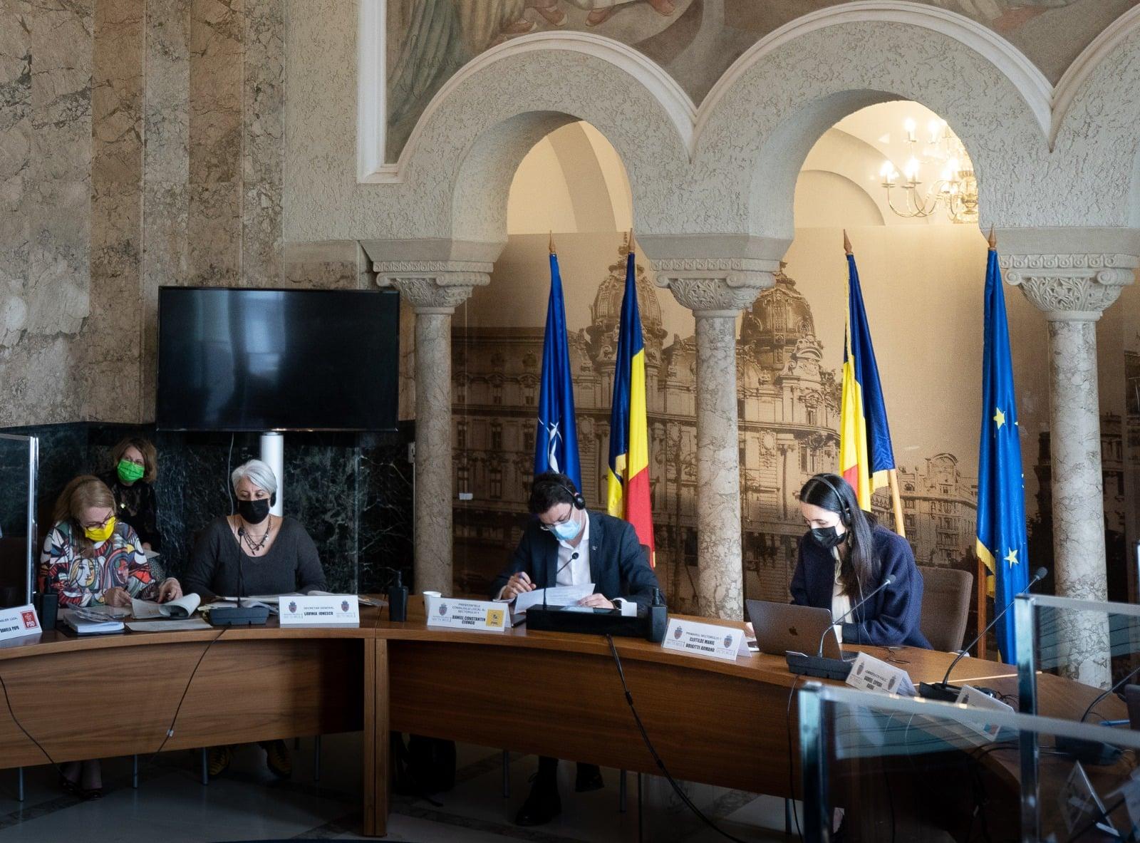 Consiliul Local al Sectorului 1 a votat bugetul pe anul 2021