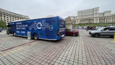 Photo of S-a deschis primul centru de vaccinare drive-through din Bucureşti. Imunizare cu Pfizer, doar cu buletinul, în Piaţa Constituţiei. Declarația lui Nicușor Dan