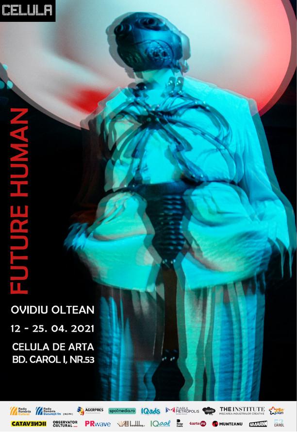 """Experimentulfotografic denumit """"Future Human"""", expus la galeria Celula de Artă din București"""
