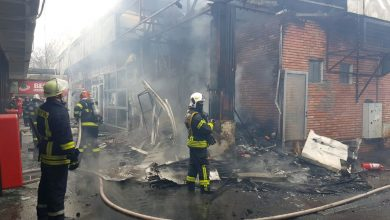 Photo of Incendiu uriaș la mai multe magazine din Piața Veteranilor, în Sectorul 6. Ciprian Ciucu a venit cu o decizie imediată