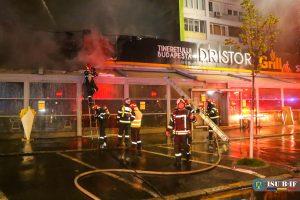 Incendiu la Dristor Kebap