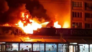 Photo of Incendiu la Dristor Kebap. Cunoscuta șaormerie din București a ars noaptea trecută