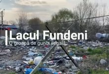 """Photo of Primarul Sectorului 2, despre Lacul Fundeni, înconjurat de gunoaie. """"Am început neutralizarea acestor calamități ecologice"""""""