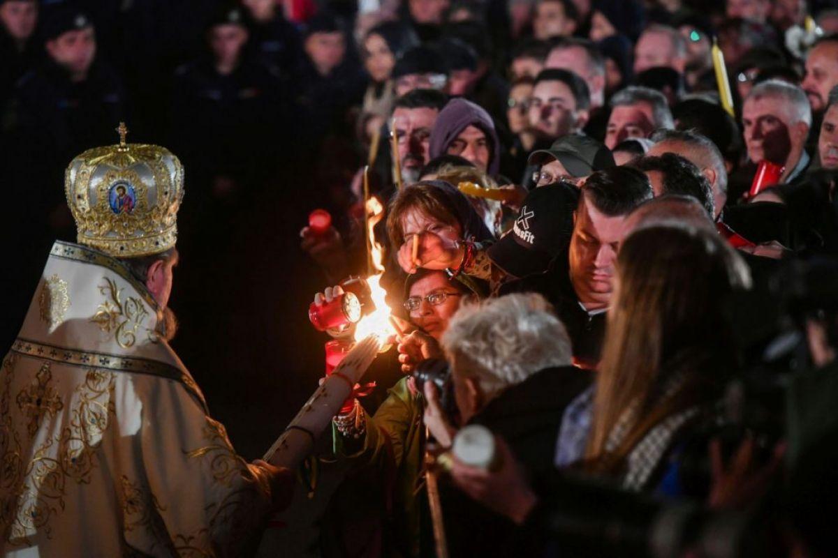tradiții noaptea de înviere