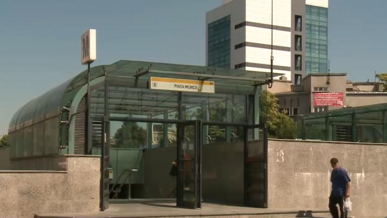 Stație de metrou închisă joi și vineri