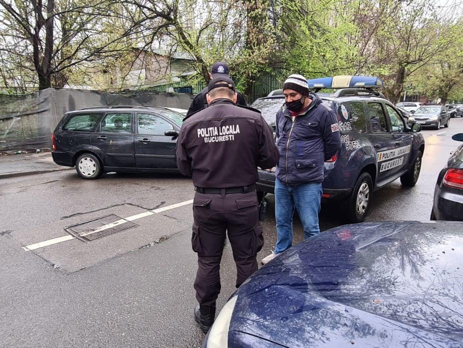 Parcangii din București au fost amendați de Poliția Locală. Valoarea amenzilor depășește 3.500 de lei
