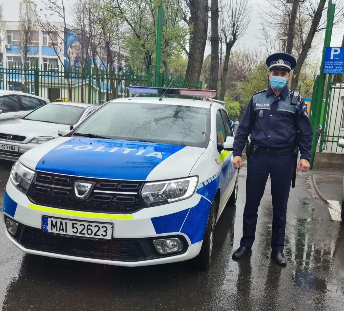 Un polițist aflat în timpul liber a prins un hoț
