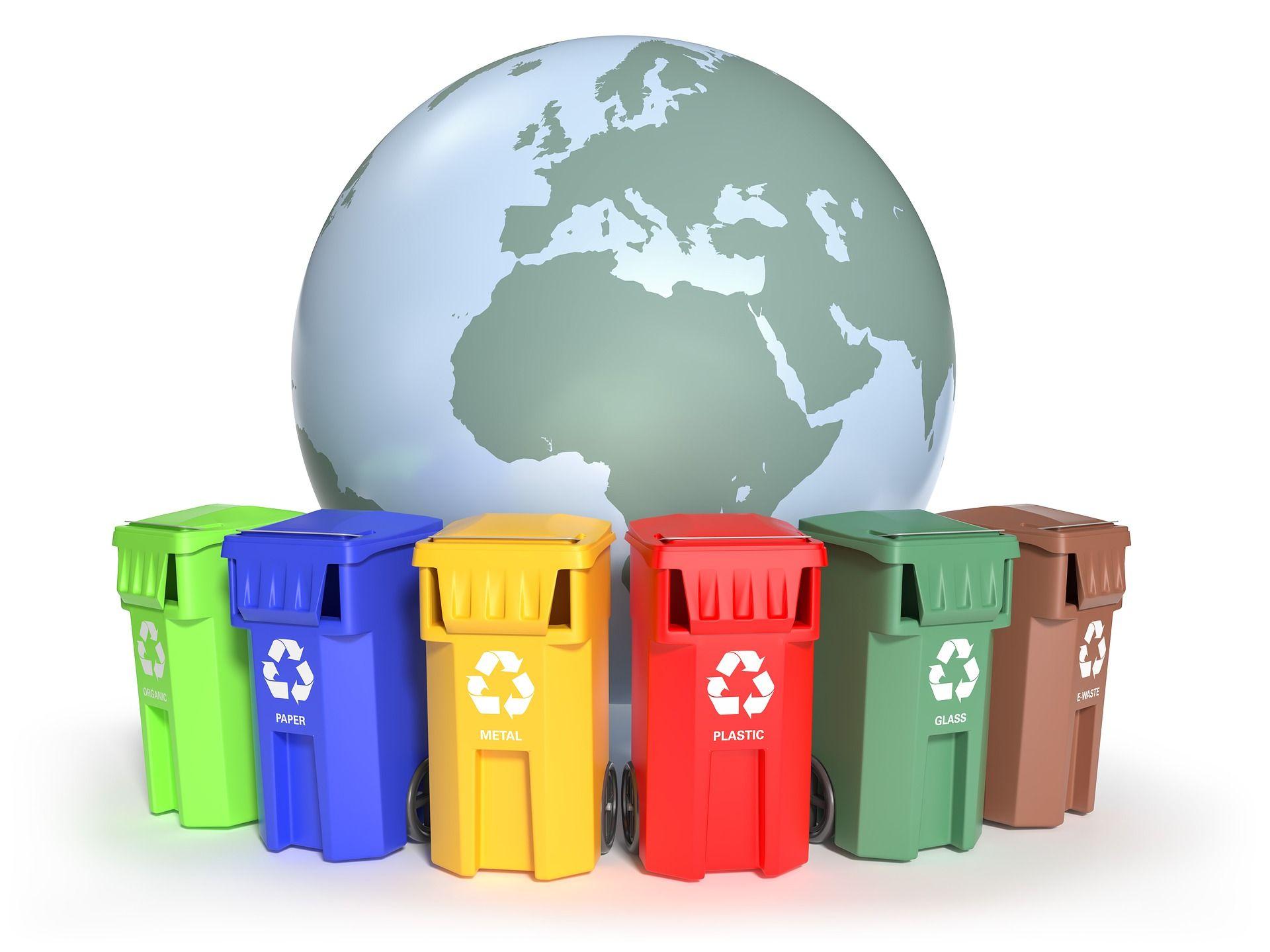 colectare selectivă a deșeurilor în Sectorul 1