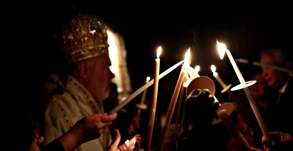 reguli pentru noaptea de Înviere și slujba de Florii