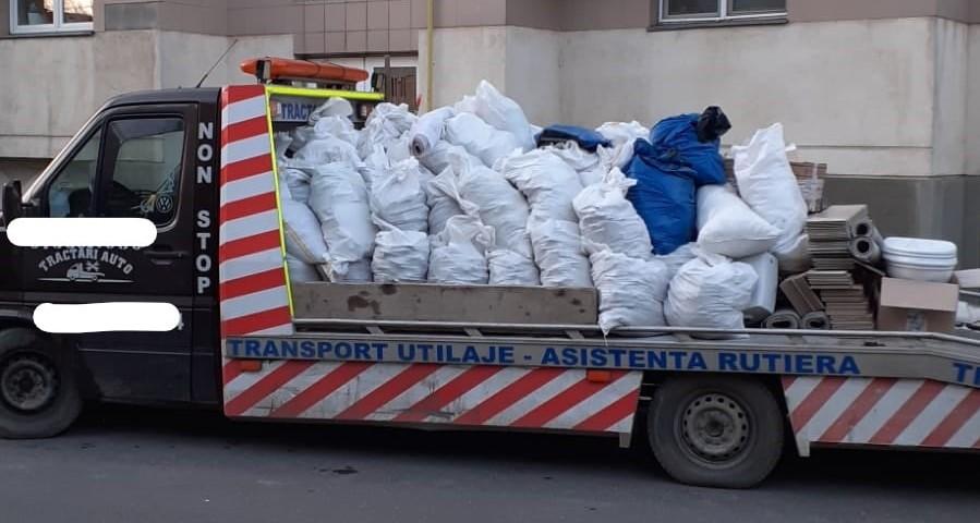 Vehicul confiscat de Garda de Mediu în Sectorul 3