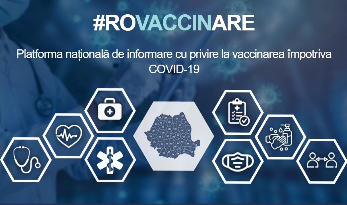 schimbări pe platforma de vaccinare