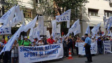 Photo of Proteste în București. Sindicaliștii din Sport ies în stradă de Ziua Sportului nu la alergat, dar la manifestații