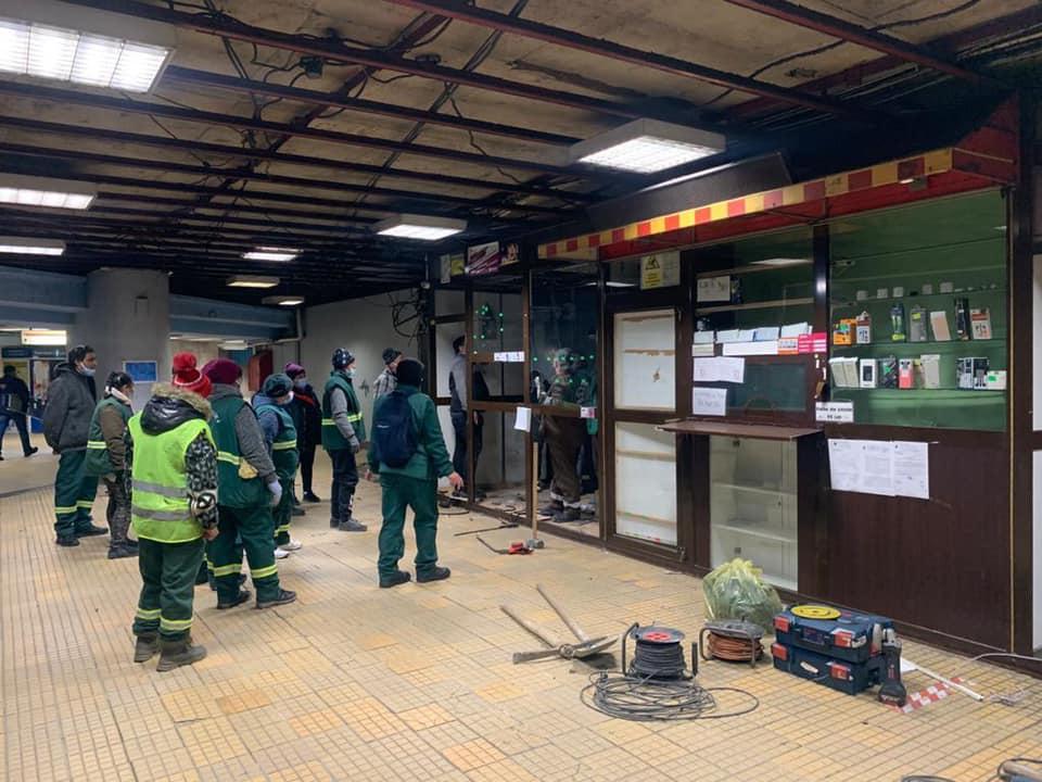 Comercianții de la metrou au pierdut procesul
