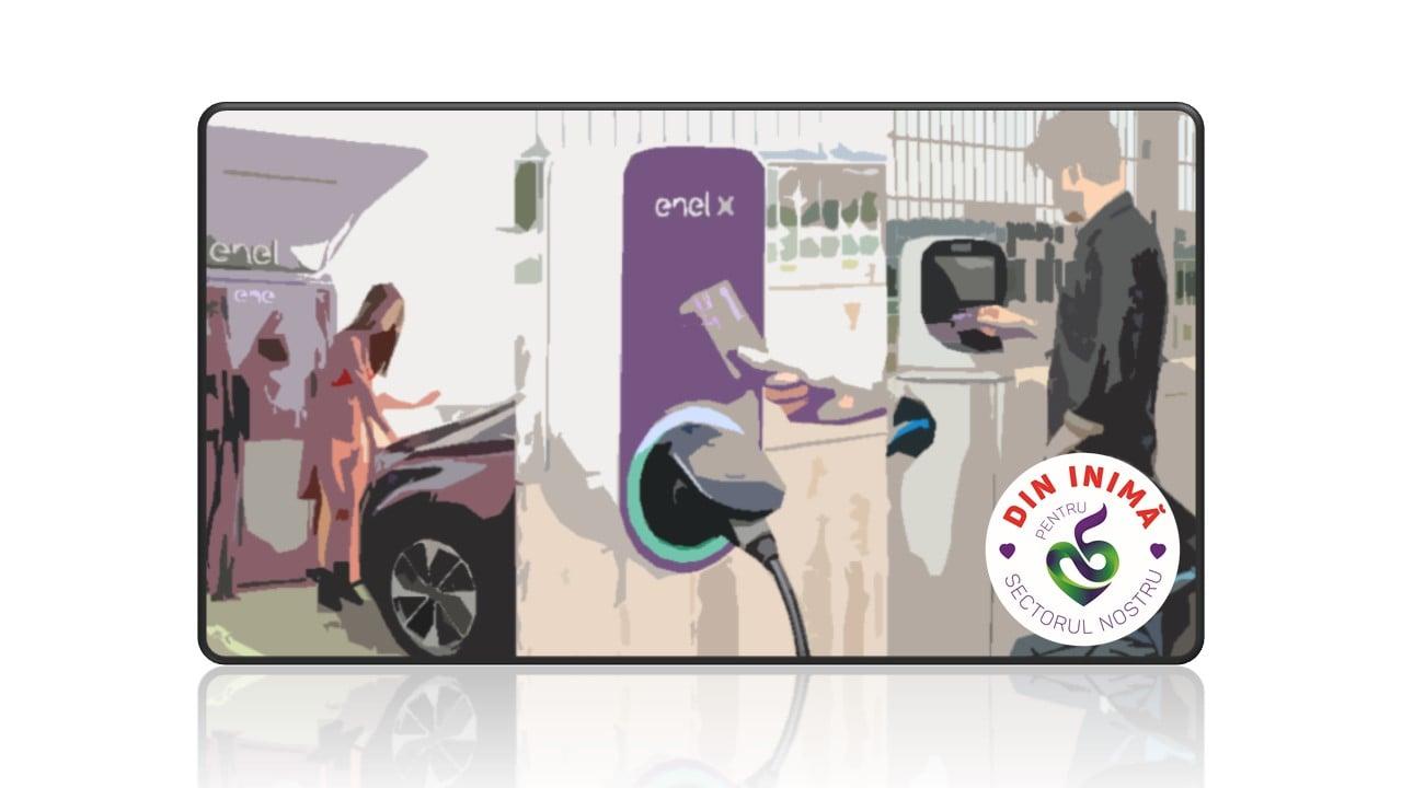 Stații de încărcare pentru mașinile electrice în Sectorul 5
