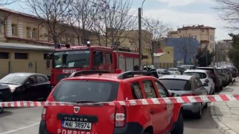 pericol de explozie în București