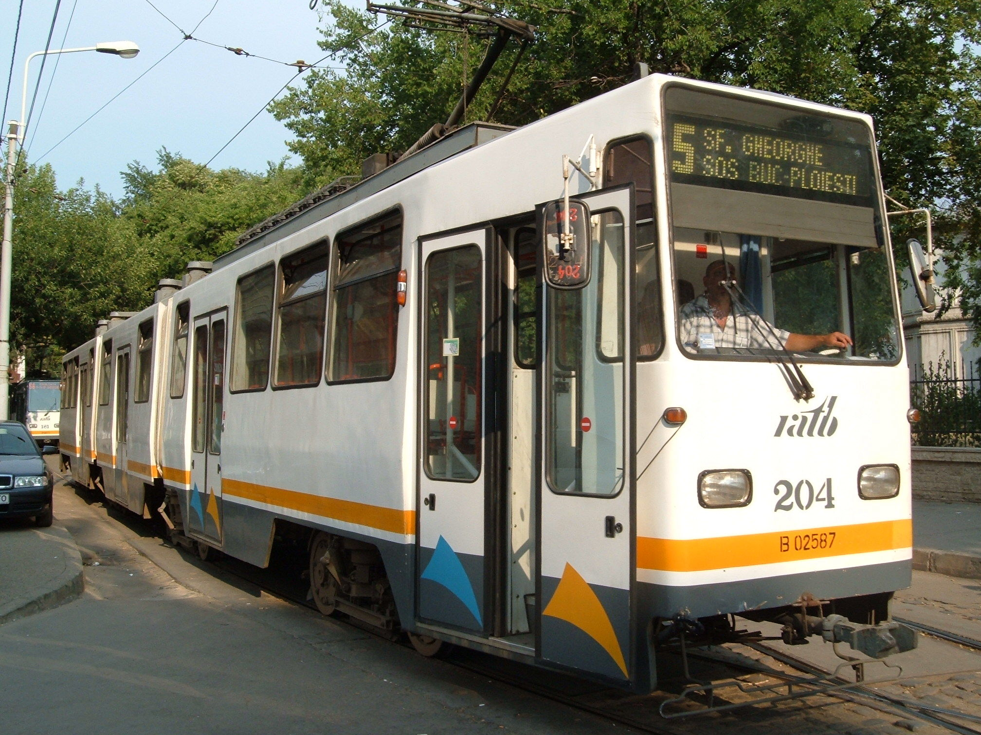 linia 5 tramvai bucuresti