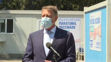 """Photo of """"Astăzi vom depăși 100.000 de persoane vaccinate într-o zi"""", spune Klaus Iohannis [VIDEO]"""