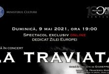 "Photo of ""La Traviata"" va fi transmisă online de Opera Națională București"