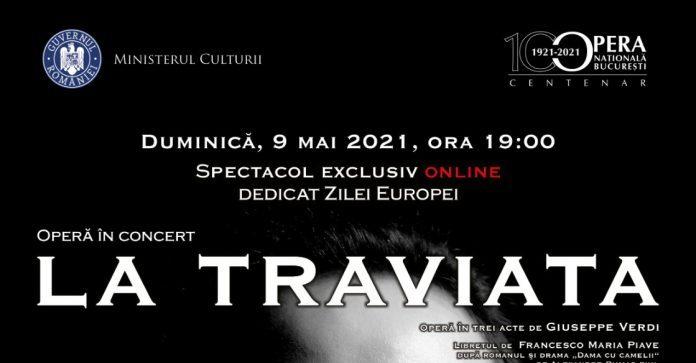 """""""La Traviata"""" va fi transmisă online de Opera Națională București"""