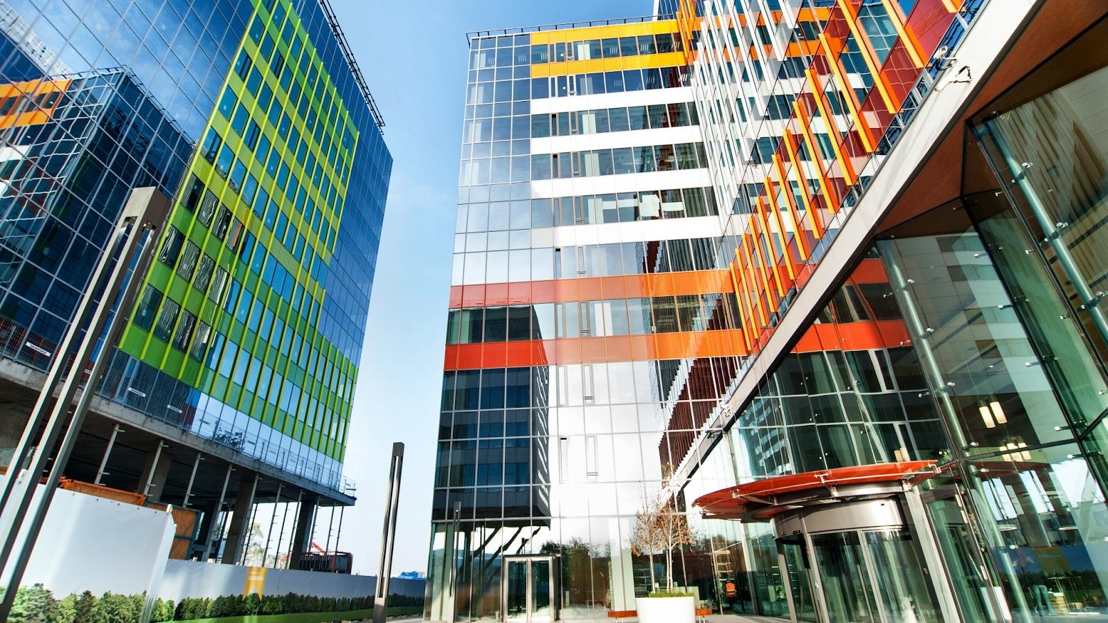 Chiria ȋn clădirile de birouri din București