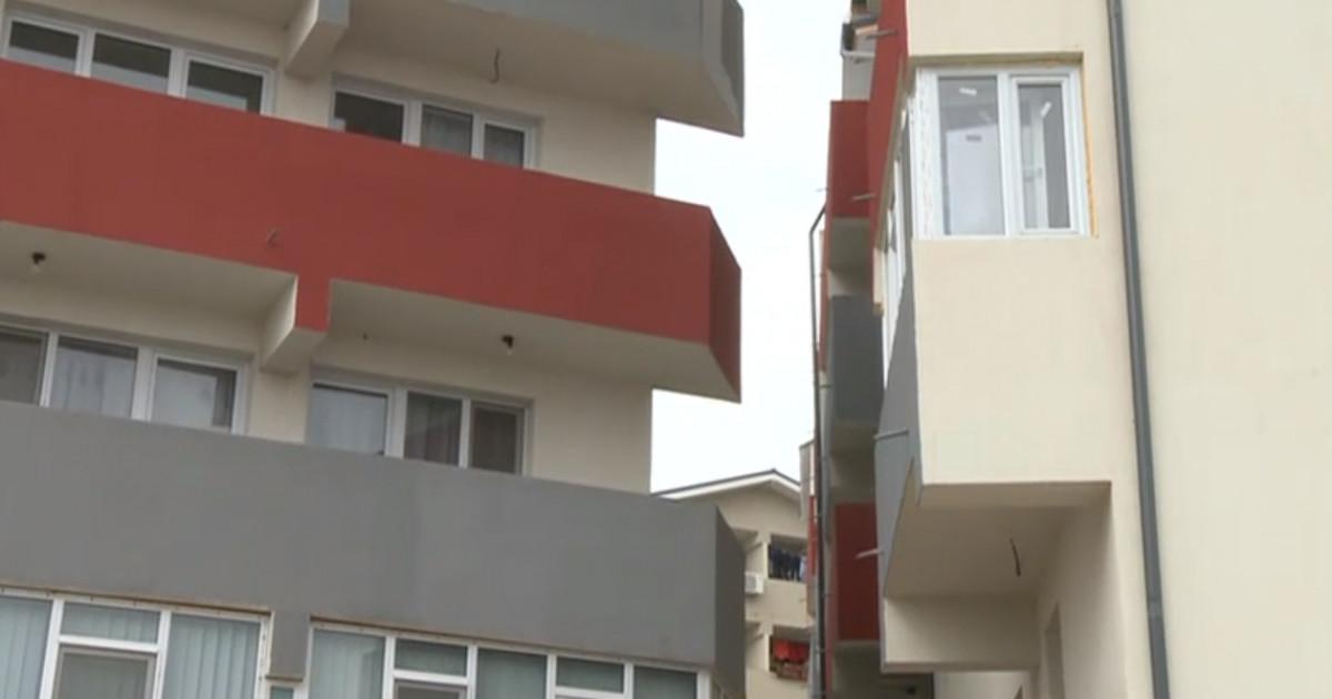 Distanţa dintre blocurile din București