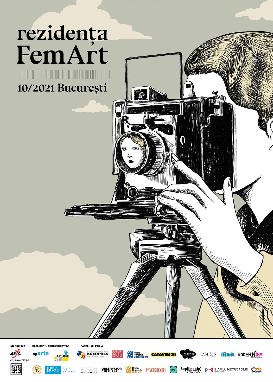 Asociația Română a Femeilor în Cinema (ARFC) anunță lansarea Concursului de proiecte Rezidența FemArt 2021
