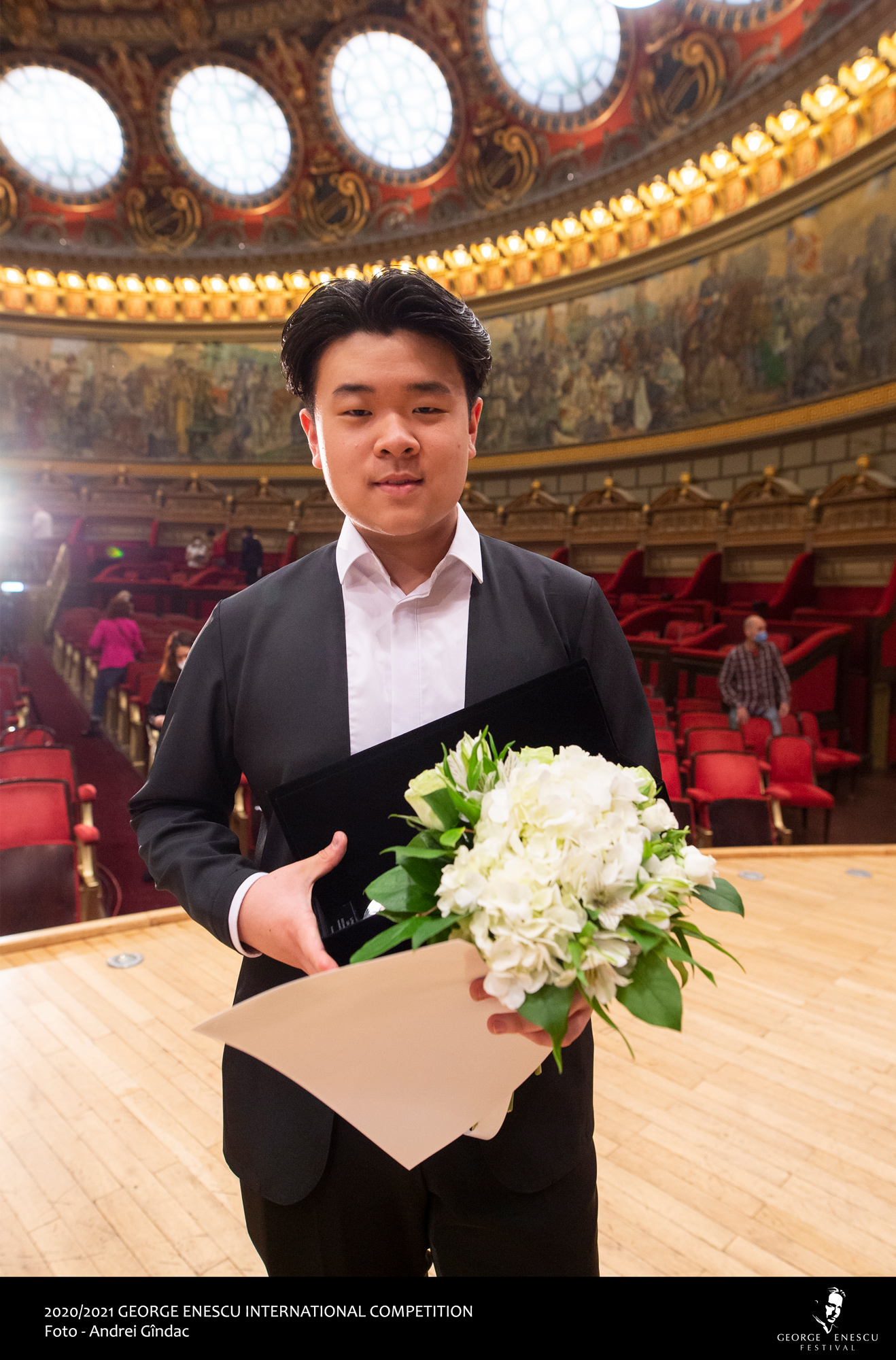 Jaemin Han din Coreea de Sud este marele câștigător al Finalei de Violoncel la Concursul Internațional George Enescu 2020/2021