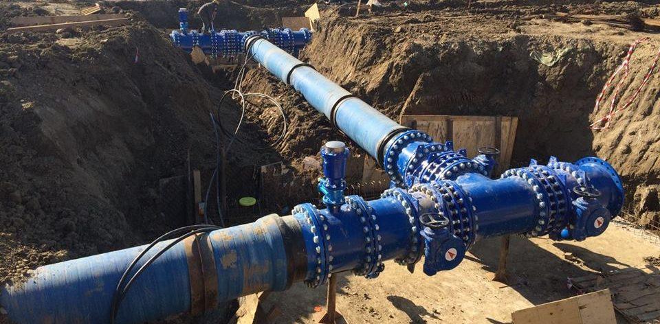 Lucrări de extindere și modernizare la rețeaua de apă și canalizare
